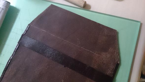 革小物 ブックカバー 右側