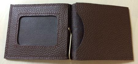 カードポケットの縫い付け