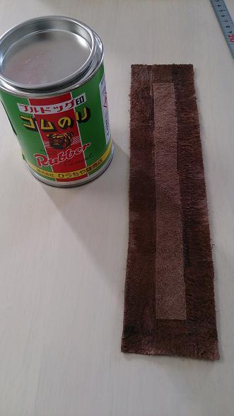 革手縫い クラッチバッグ