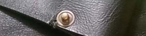 革製のティッシュケース