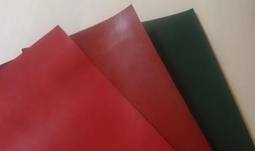 革小物・革製品用の色革