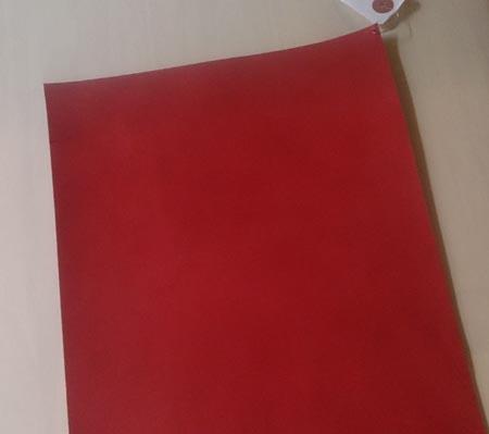 タカラ産業さんの赤いヌメ革